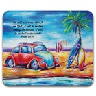 Mouse Pad: Faith Deborah Broughton Beach Bug (Psalm 46:10) (Australiana Products Series) Soft Goods