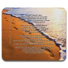 Mouse Pad: Faith Footprints in the Sand (Australiana Products Series) Soft Goods