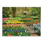 2022 Wall Calendar: Peaceful Gardens Calendar