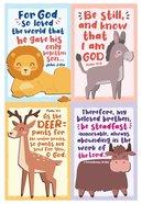 Notepad Set of 4: Animals Series Stationery