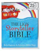 Lion Storyteller Bible, the Includes CD (25th Anniversary Edition) Hardback
