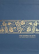 NET Abide Bible Journal the Gospels and Acts (5 Vol Box Set) Paperback