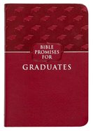 Bible Promises For Graduates Raspberry Imitation Leather