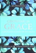 Growing in Grace (Blue Floral) Hardback