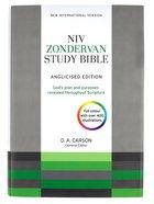 NIV Zondervan Study Bible Anglicised Hardback
