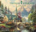 2022 Thomas Kinkade Wall Calendar: Studios With Scripture Deluxe Calendar