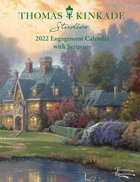 2022 Thomas Kinkade Diary/Planner: Studios Monthly/Weekly Planner With Scripture Calendar
