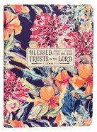Journal: Trusts in the Lord Floral (Jer. 17:7) Imitation Leather