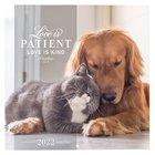 2022 Small Wall Calendar: Love is Patient Calendar