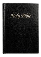 KJV Royal Ruby Holy Bible Text Presentation Black (Black Letter Edition) Hardback