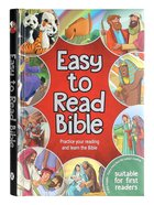 Easy to Read Bible: Practice Your Reading and Learn Your Bible Hardback