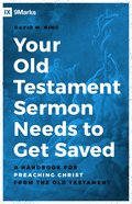 Your Old Testament Sermon Needs to Get Saved eBook
