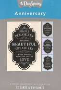 Boxed Cards Anniversary: Chalkboard Box