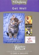 Boxed Cards Get Well: Whisker & Paws (Kjv) Box