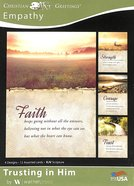 Boxed Cards: Empathy - Trusting in Him (4 Designs, 12 Assorted Cards, Kjv) Box