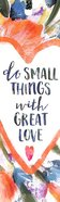 Bookmark With Tassel: Small Things Great Love Stationery