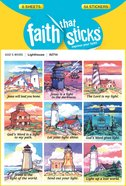 Lighthouse (6 Sheets, 54 Stickers) (Stickers Faith That Sticks Series) Stickers