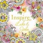 NLT Inspire Luke & John Coloring & Creative Journaling Paperback