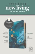 NLT Compact Bible Filament Enabled Edition Teal Palm (Red Letter Edition) Imitation Leather