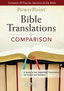Bible Translations Comparisons (Powerpoint) CD