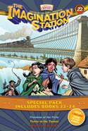 Imagination Station Books : Freedom At the Falls/Terror in the Tunnel/Rescue on the River (3-Pack) (Adventures In Odyssey Imagination Station (Aio) Se Paperback