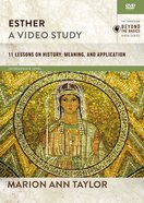 Esther : 11 Lessons on History, Meaning, and Application (Video Study) (Zondervan Beyond The Basics Video Series) DVD