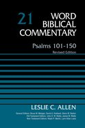Psalms 101-150 (#21 in Word Biblical Commentary Series) Hardback