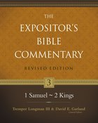 1 Samuel-2 Kings (#03 in Expositor's Bible Commentary Revised Series) Hardback