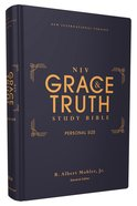 NIV Grace and Truth Study Bible Personal Size (Red Letter Edition) Hardback