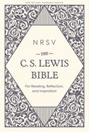 NRSV C S Lewis Bible Hardback