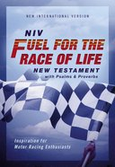 NIV Fuel For the Race of Life New Testament With Psalms and Proverbs Pocket-Sized (Red Letter Edition) Paperback