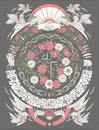 NIV Jesus Bible Artist Edition Gray Floral Premium Imitation Leather