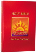 CEV Bible For Today Burgundy Hardback